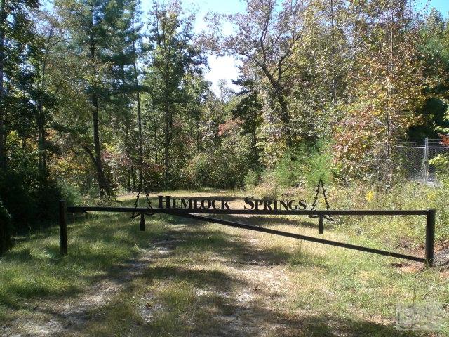 V/L #8 Hemlock Springs, Nebo, NC 28761