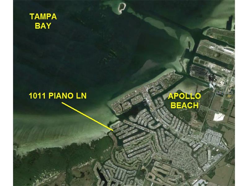 1011 PIANO LANE, APOLLO BEACH, FL 33572