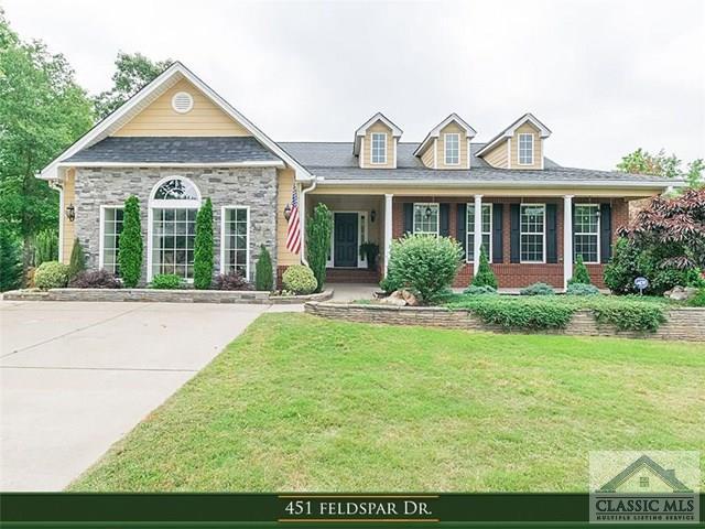 451 Feldspar Drive, Jefferson, GA 30549