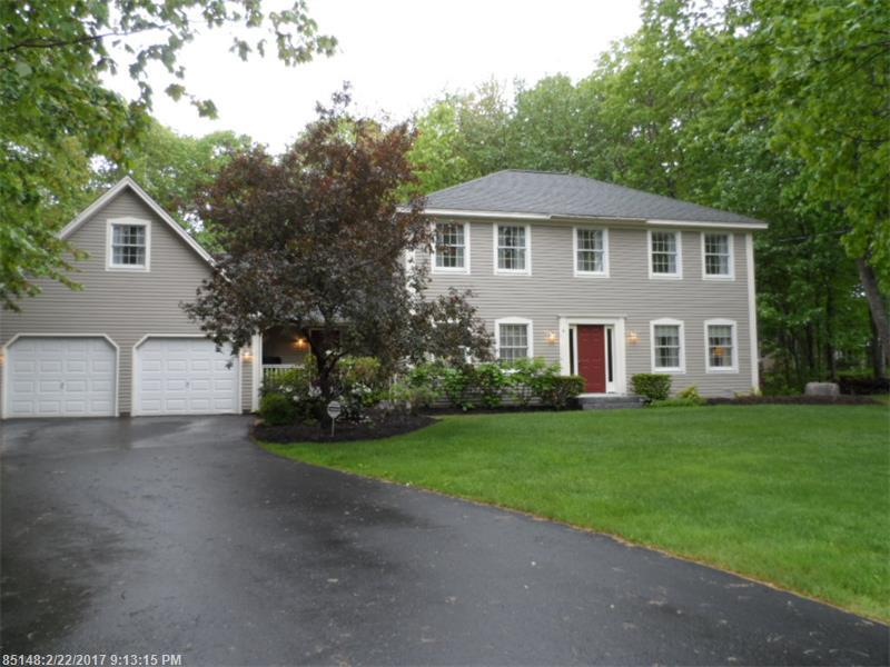 Come Feel at Home! This 4 bedroom colonial in an established Brunswick neighborhood boasts a custom cherry kitchen, large family room, dining room, and attractive landscaped lot. Master bedroom suite w/ walk-in cedar closet. Bonus room over garage. Grill on the deck and enjoy the pool & hot tub this summer! You will appreciate the new Heating system installed 2014 (w/warranty). Shingles 5+/- years old. New Driveway 2014. Come see all that this home offers