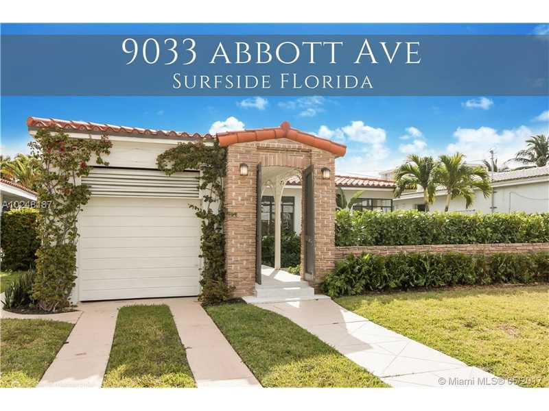 9033 Abbott Ave, Surfside, FL 33154