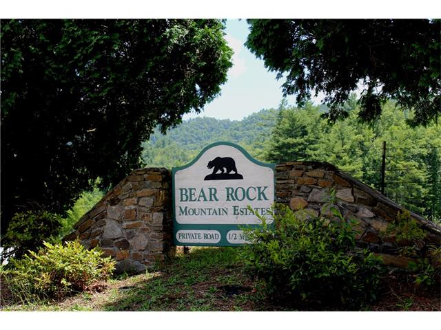 Build your dream home in the beautiful Crab Creek Valley in Bear Rock Mountain Estates with long range views; perfect for watching sunsets/sunrise over breathtaking mountain vistas.  This triple lot has a 3-bedroom APPROVED septic system for left end of property and WELL is already in place.  Paved state road in peaceful setting.  Only about 20 minutes to Downtown Hendersonville and 15 minutes to Dupont State Forest activities and Brevard.