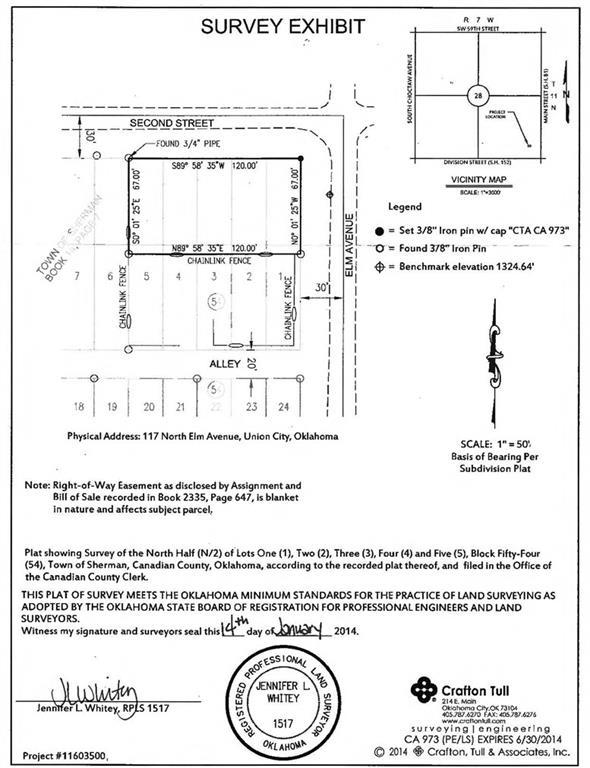 117 N Elm Avenue, Union City, OK 73090