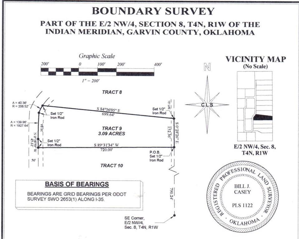 N County Road 3183 (Tract 9), Paoli, OK 73074