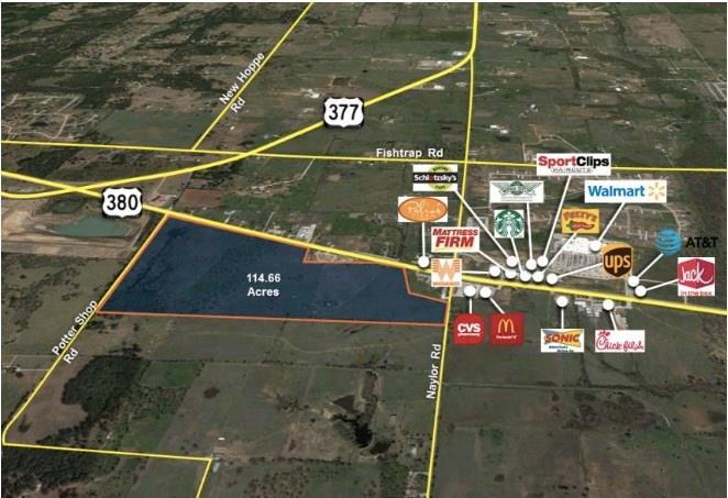 9701 380 East Highway, Cross Roads, TX 76227