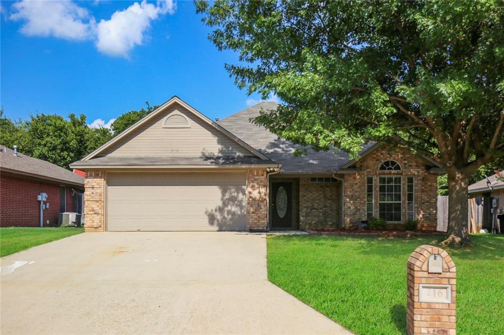 216 Linda Street, Aubrey, TX 76227