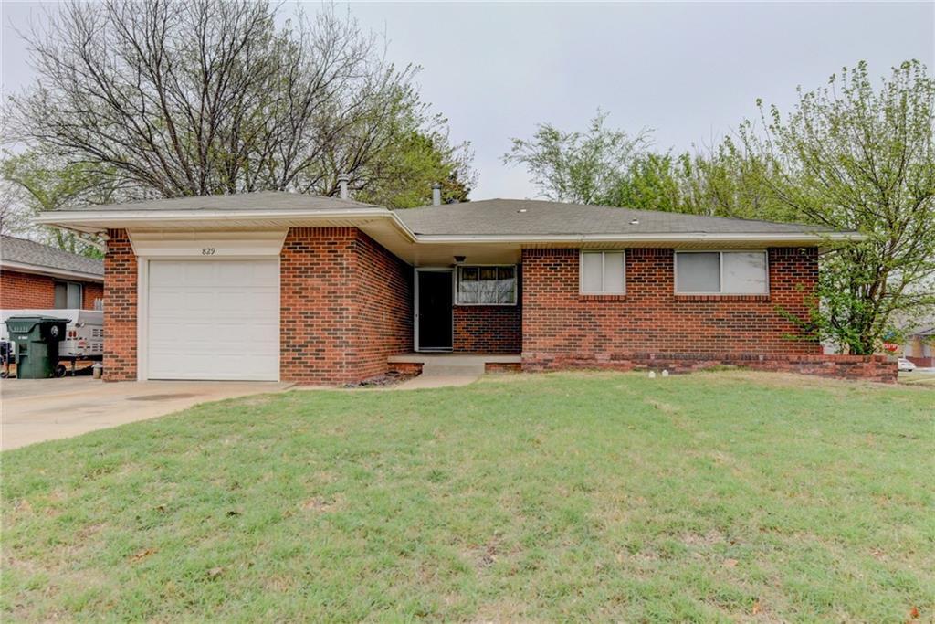 829 E Carroll Lane, Oklahoma City, OK 73110