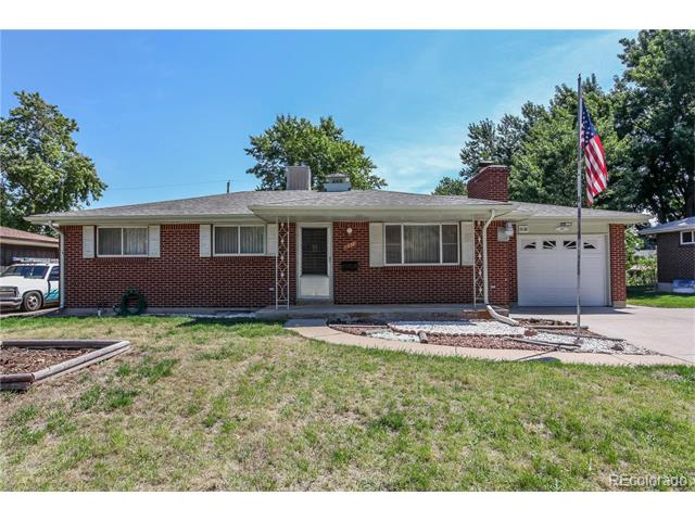 1538 S Brentwood Street, Lakewood, CO 80232