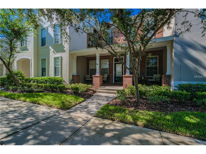 """Craving the urban lifestyle? Beautiful 3 BR, 2.5BA + Study & 2 Car Alley-Entry Garage comes to market in coveted West Park Village in Westchase. This neo-traditional townhome offers charming brick façade & welcoming FRONT PORCH. Downstairs you'll find a Formal Dining Room, Study w/French Doors, Powder Rm & GREAT RM which combines Family Rm, Dinette & Kitchen. Kitchen features 36"""" Wood Cabinetry w/crown molding, corner glass display cabinet, appliance garage, breakfast bar, STAINLESS STEEL appliances & generous pantry. Upstairs you'll find 3 BRS, 2 Full BAs & Laundry Rm. SPACIOUS Master BR features En-Suite BA. Master BA boasts split dual vanity, GARDEN Tub, Separate Shower Stall & Private Water closet + HUGE Walk-In Closet. Darling, private backyard boasts COVERED + OPEN BRICK-Paved Patio w/BRAND-NEW Landscaping. Upgrades & features include: Large Storage Closet under stairs, New Distressed Look Laminate in Dining Rm & Study, 2"""" Blinds throughout, FRESH Interior Paint [Walls & Trim], Updated Master BA tile & Listello, Frameless Enclosure & Upgraded Light/Plumbing fixtures. Within close proximity to Westchase Town Centers w/choice of eateries, retail, healthy & beauty + Starbucks. Westchase features WORLD Class Amenities including 2 Heated/Cooled Swimming Pools, Water Slide, Toddler Pools, 10 lit Tennis Courts, Playgrounds, Parks, Pavillions, Natural Trails, Outdoor Exercise Equipment, Splash Park & Outdoor Ping Pong tables. Westchase is a wonderful place to call home, call today for your private showing!"""