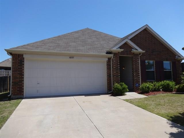 4009 Black Butte Drive, Denton, TX 76210