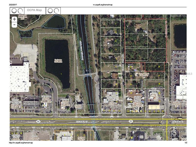 CENTRAL PARK AVENUE, ORLANDO, FL 32807