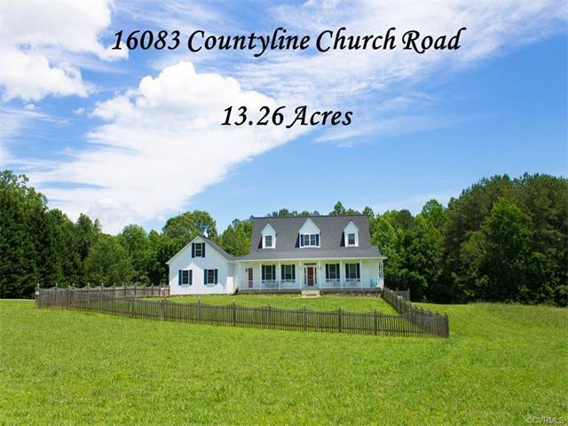 16083 Countyline Church Road, Ruther Glen, VA 22546
