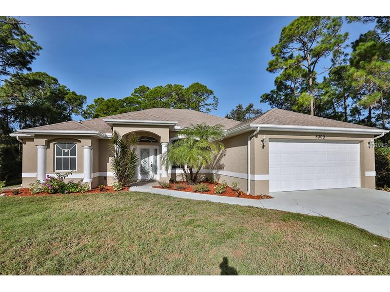 5309 CHAPLIN TERRACE, NORTH PORT, FL 34286