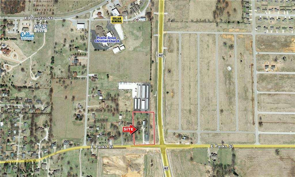 924 & 930 E Parks ST, Prairie Grove, AR 72753