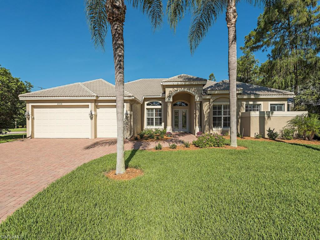 4005 Reflection CT, NAPLES, FL 34109