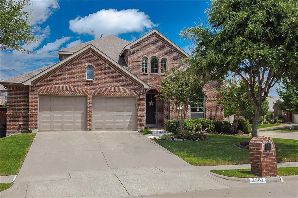 2481 Greenbrook Drive, Little Elm, TX 75068