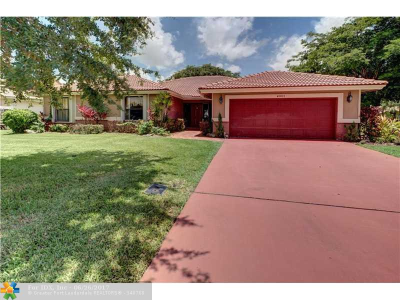 4001 NW 73RD WY, Coral Springs, FL 33065