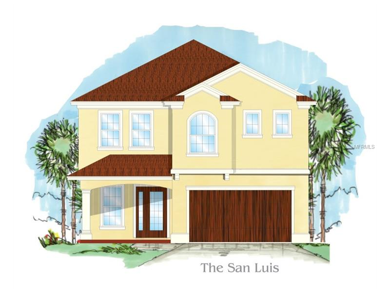 "UNDER CONSTRUCTION. Location!!Location!! Location!! A few blocks away from the beautiful Bayshore Boulevard overlooking the Old Hillsborough Bay and views of Downtown Tampa. Shimberg Homes presents this 5 bedroom, 4.5 bath, 2 car garage, two story home. The (San Luis ) has 3450 living sq. ft. Loaded with upgrades from our Bayshore Series Luxury Feature List. This home has a stunning architectural design with 8' tall entry door , 10'ceilings throughout the entire home.This home boasts an open concept with an extra large family room that opens up to the gourmet kitchen and dining room made for entertaining. The gourmet kitchen features 42"" maple upper cabinets ,stainless steel appliances, granite counter tops throughout. Upstairs ,the luxurious master bedroom and on suite bath features two walk in closets, separate garden tub and shower, as well as his and her vanity sink areas. There are 3 additional spacious bedrooms upstairs, a jack and Jill bath ,as well as an additional full bath, and a conveniently located spacious 2nd floor laundry room. A huge Covered Lanai ,mud room and 1/2 bath as well as a spacious guest bedroom with full bath compliment the first floor. With Shimberg Homes Bayshore Series Luxury feature List and over 47 years of Shimberg Homes Family tradition of building affordable, quality ,attention to detail luxury homes, you will not be disappointed! Move in ready October 2017."
