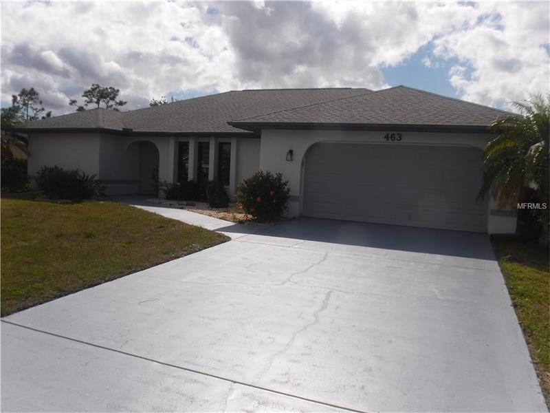 463 GALLEGOS STREET PUNTA GORDA, Florida
