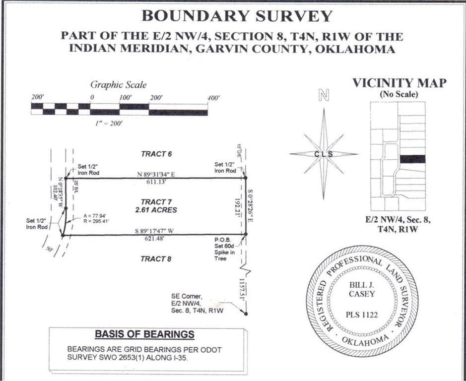 N County Road 3183 (Tract 7), Paoli, OK 73074