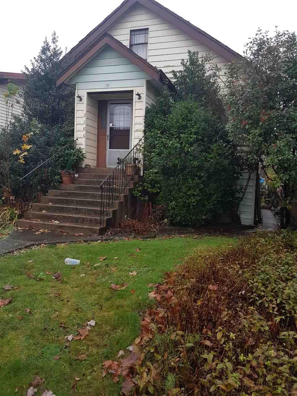 2286 E BROADWAY AVENUE, Vancouver, BC V5N 1W9