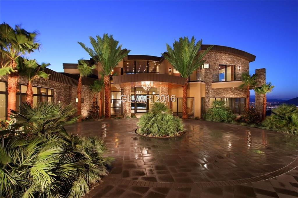 Most expensive homes in las vegas for Most expensive homes in las vegas