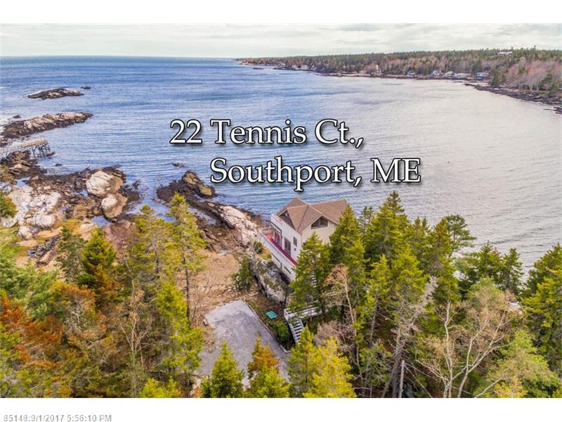 22 SW Tennis CT SW , Southport, ME 04576