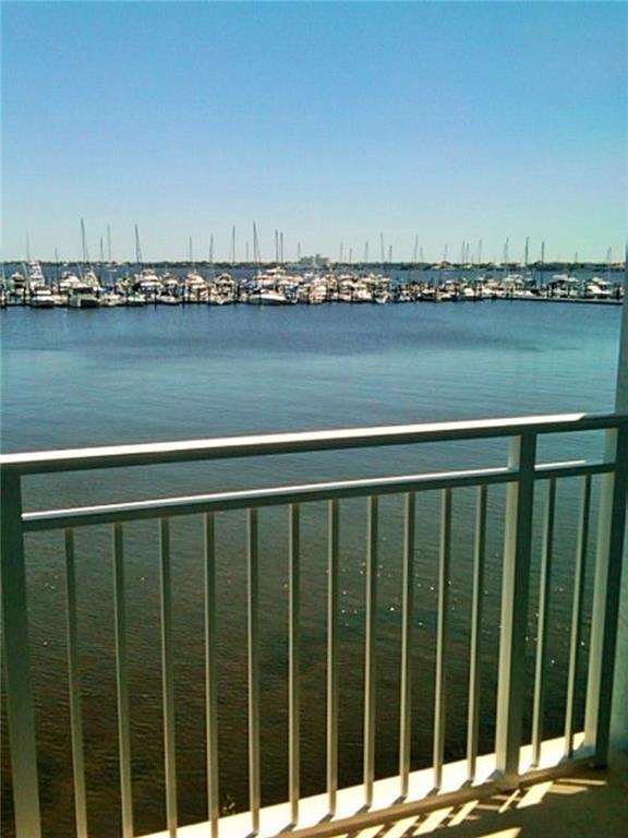 Amazing views! Penthouse condo with full view of the St. Lucie River from every room. Gorgeous two bedroom, each with a full bathroom. Updated kitchen and lots of closet space. This gem comes with a one car garage that makes this one a winner in every way. Close to everything downtown, the Clubhouse to swim, sauna and work out in the state-of-the-art fitness center.