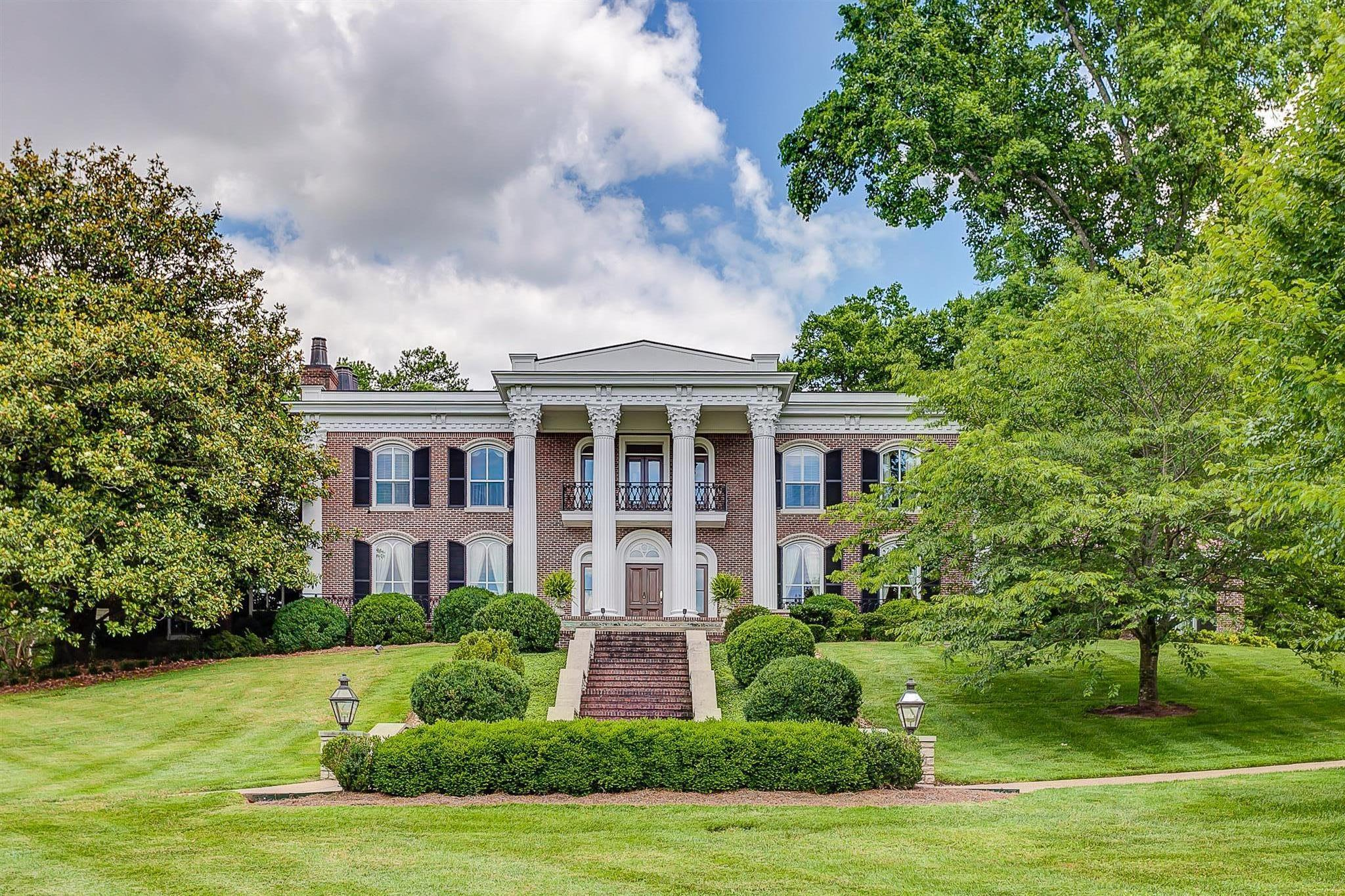 Touched  by Tradition & Timeless Elegance. This fine home has entertained governors and past presidents. A truly elegant estate that whispers Southern Charm rests on 2.4 pristine acres with every attention to detail. One of a kind must see home.