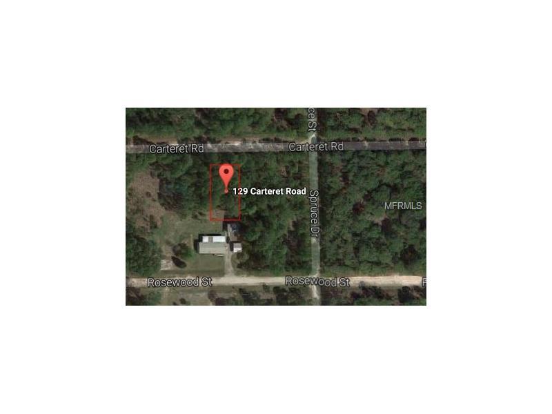 129 CARTERET ROAD, GEORGETOWN, FL 32139