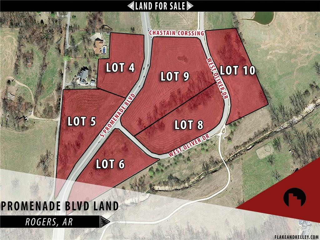 W Oliver DR Unit #Lot 4, Rogers, AR 72756
