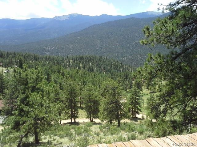 *VIEWS and more VIEWS* *Home on TWO LOTS, 2.2 ACRES - backed to NAT'L FOREST LAND*. This raised-ranch style home has a top-of-the-line FINISHED: living room, dining room, kitchen, bedroom, and bathroom, EVERYTHING IS BRAND NEW! The kitchen features granite counter-tops, double oven, Jenn-Air double grill stove-top & micro-wave oven, stainless steel double door refrigerator, water-line attached Keurig coffee maker (no need to keep filling), tile floor; dining and living room have hickory wood floors; bathroom has marble floors; and the list goes on and on. Fixtures needed to finish mstr. bth: steam shower, 6 foot Jacuzzi tub, double vanity, sliced stone flooring- all included. Walls are all finished, textured, & painted on main level. New washer and dryer still in the box, wood deck partially finished and the rest of the wood included. Finish this home and it could be worth $450K. Can move in now and finish the rest while you live, hike, and enjoy your dream home!!