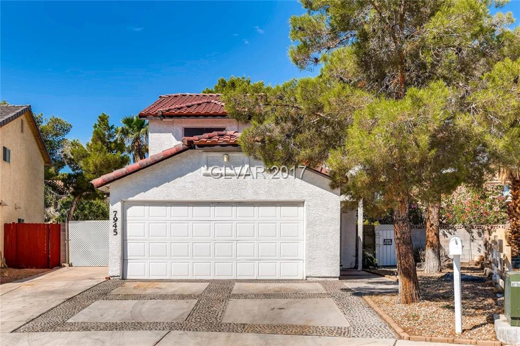 3 Bedroom 2.5 Bath~Master bedroom extended into 2nd bedroom~Could be 4 bedroom~Tile throughout~Covered patio with desert landscaping.