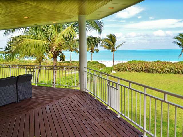 Treasure Cay beach frontage houses for sale