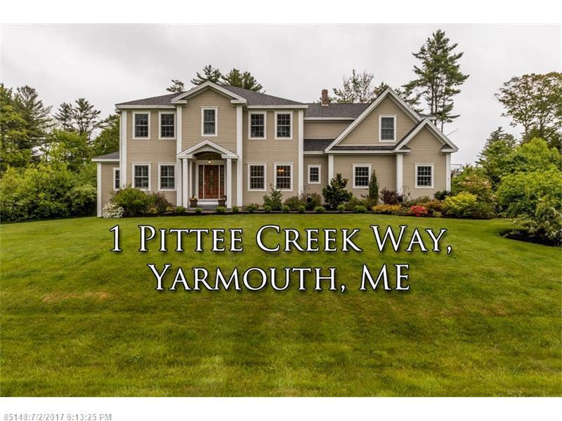 1 Pittee Creek WAY , Yarmouth, ME 04096