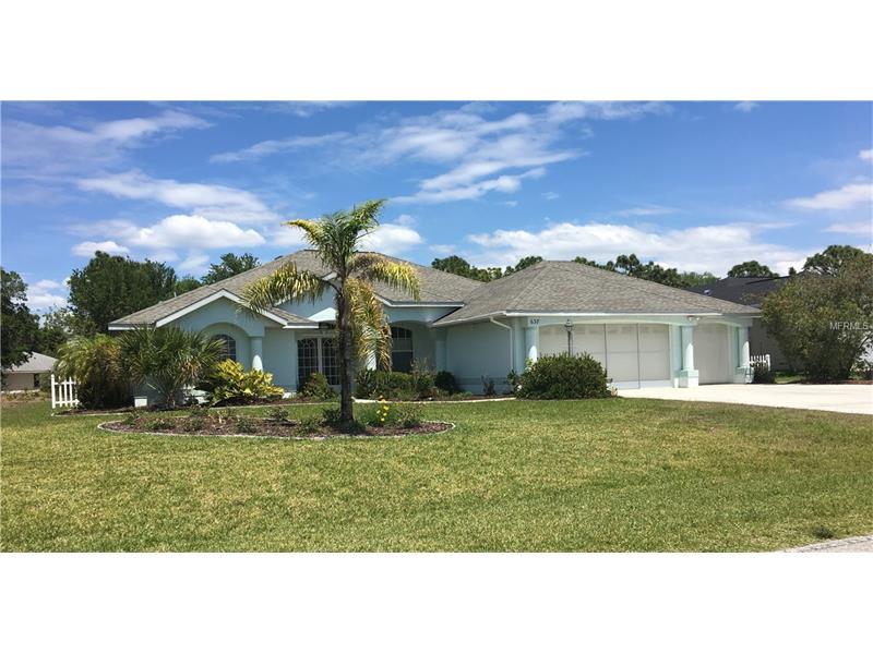 637 BOUNDARY BOULEVARD, ROTONDA WEST, FL 33947