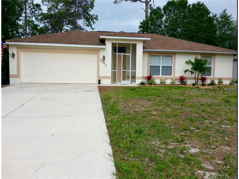 2863 TWINKLE AVENUE, NORTH PORT, FL 34286