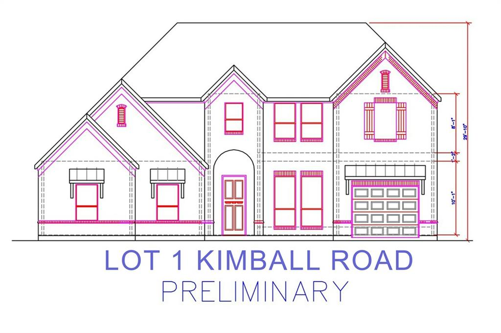 Lot 1 Kimball Road, Grapevine, TX 76051