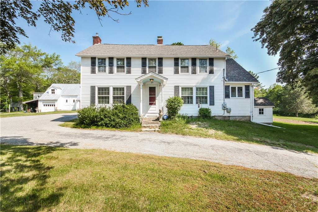 69 Old Danielson PIKE, Foster, RI 02825