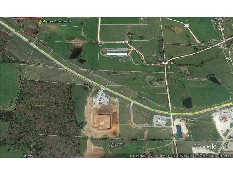 4.6 Acres Hwy 412, Huntsville, AR 72740