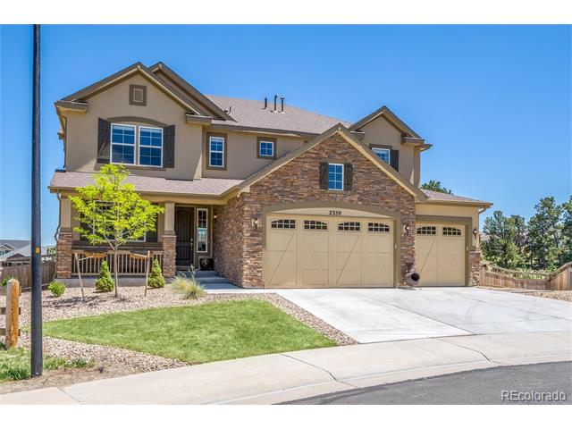 2350 Robin Song Court, Castle Rock, CO 80109