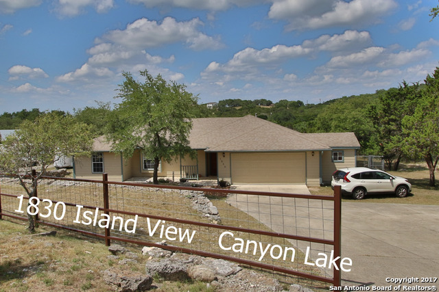 1830 ISLAND VW, Canyon Lake, TX 78133