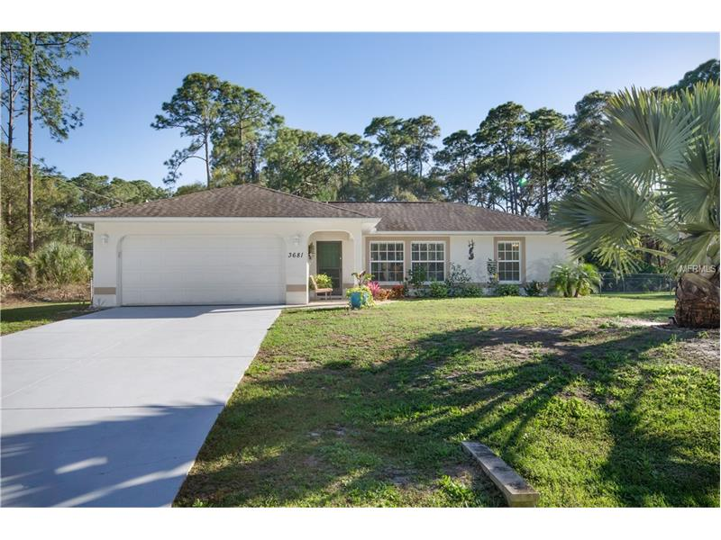 3681 PERICLES AVENUE, NORTH PORT, FL 34286