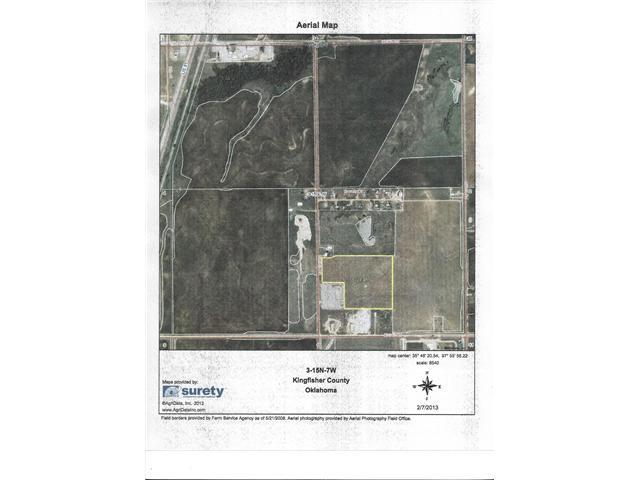 18 Acres in 03-15N-07WIM, Kingfisher, OK 73750
