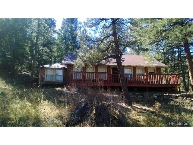 Charming and unique U.S. Forest Service cabin located in the Pike National Forest. Private rustic cabin along a small seasonal stream plus a 360 square foot workshop and cellar. Lots of wildlife, privacy, and space to enjoy nature.  Improvements (Cabin) ONLY, NO LAND, NO TITLE INSURANCE, no mortgage, CASH only transaction.  Improvements are subject to periodic renewal of lease with U.S. Forest Service.  No plumbing, no bathroom, has outhouse. Showings by appointment with listing broker only.  Buyer's must meet with U.S. Forest Service representative prior to making an offer.