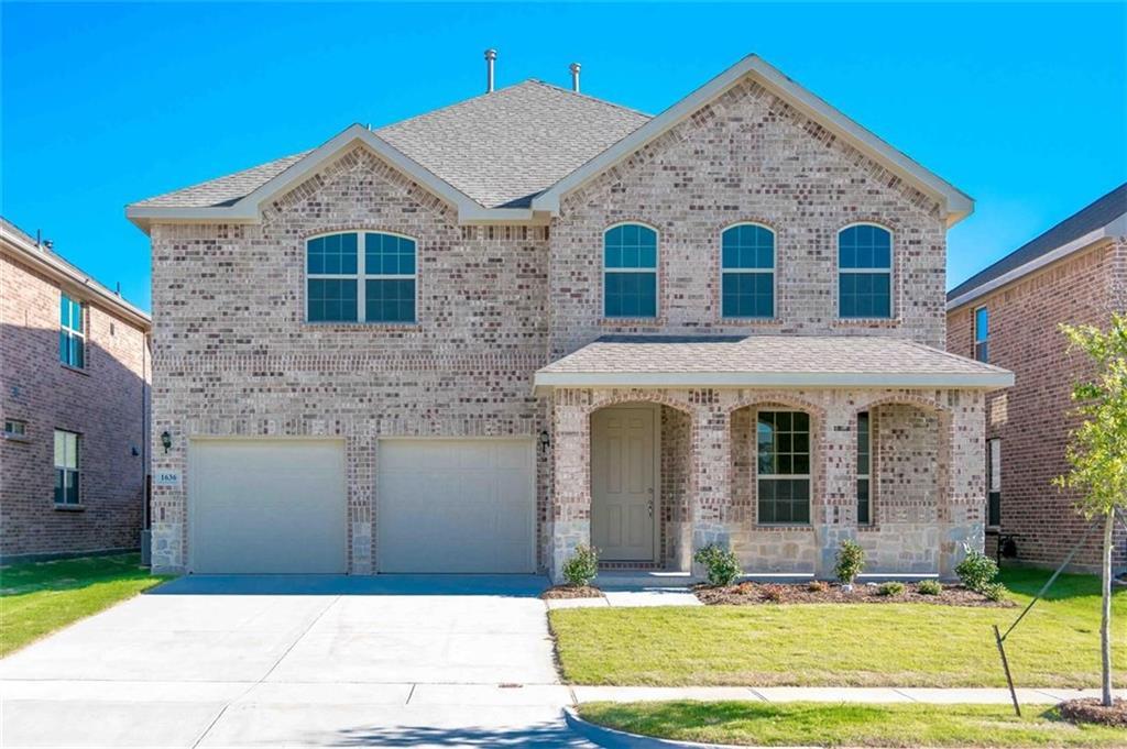 1636 Meadow Trail Lane, Aubrey, TX 76227