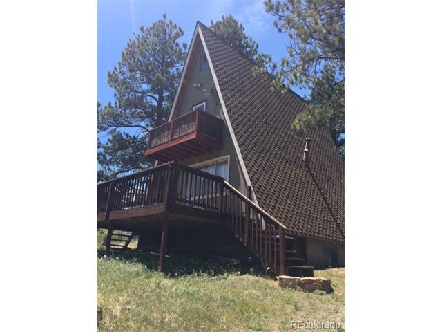 Year Round fixer upper in Burland Ranchettes* Cute A-Frame on 1+ acre, 2 bedrooms plus attic loft and office space on main level