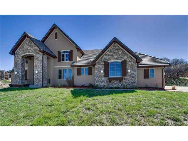 9840 Sara Gulch Circle, Parker, CO 80138