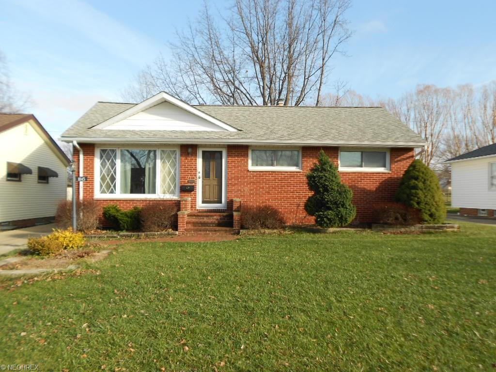 1845 Empire Rd, Wickliffe, OH 44092