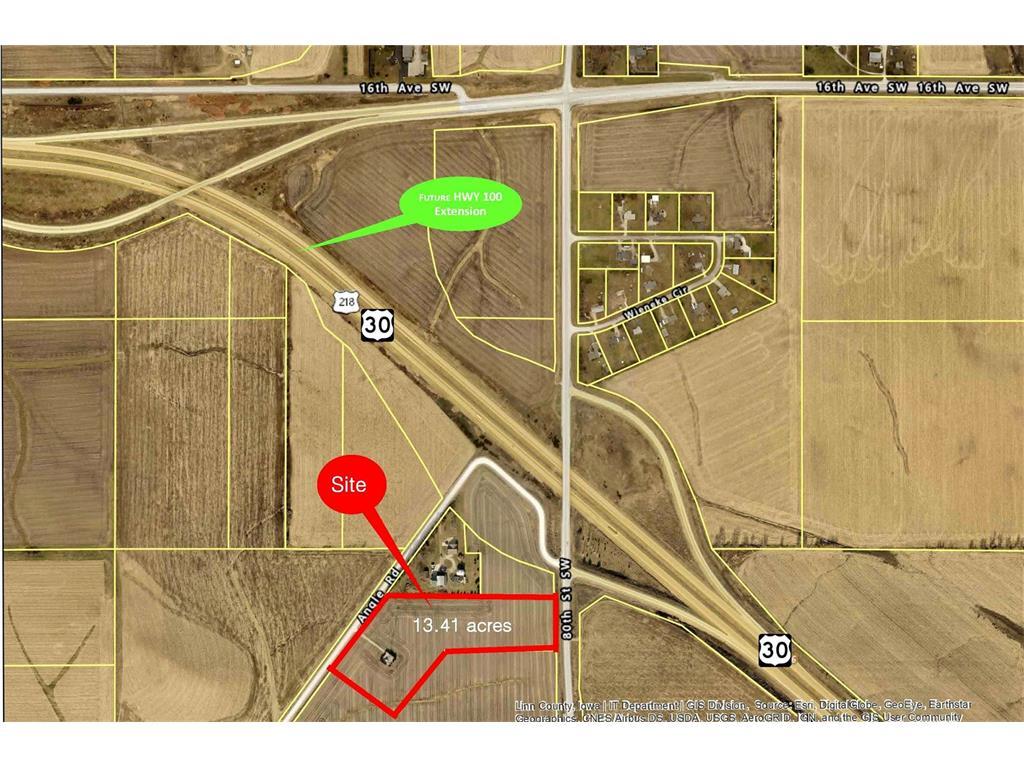 80th St/Hwy 100 SW, Cedar Rapids, IA 52404